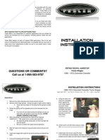 FBTHG-70CHVL Trunk Hinge Installation Instructions