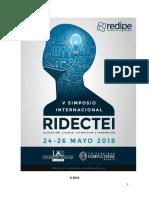 Libro Simposio Redipe España 2018
