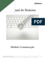 Manual Do Sistema-Modulo Comunicacao