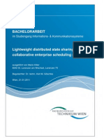 Lightweight distributed state sharing for enterprise software