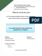 La modernisation du système de paiement en Algérie-converti