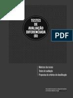 Dossiê do Professor - Testes de Avaliação Diferenciada (B)