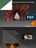 Bernardo Arosio - Creaciones Con Bambu