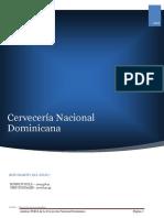 Analisis Foda Cerveceria Nacional Dominicana