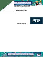 Evidencia 1 Flujograma Procesos de la cadena logística y el marco estratégico institucional