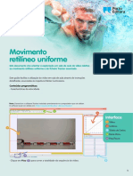 Exploração do movimento retilíneo uniforme (pdf)