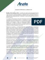 Manifesto Anafe 30.03.2021