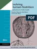 (Cambridge Studies in Biological and Evolutionary Anthropology) Stanley J. Ulijaszek, Neil Mann, Sarah Elton - Evolving Human Nutrition_ Implications for Public Health-Cambridge University Press (2012