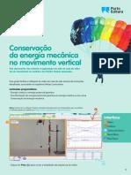 Conservação da energia mecânica no movimento vertical (pdf)