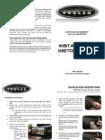 FBRL 69CAM(Reverse Light) Installation Instructions