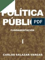 Política pública. Fundamentación