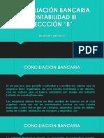 CONCILIACIÓN BANCARIA 2021