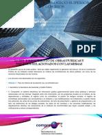 leyes y reglamentos de proyectos de construccion de administracion de construccion