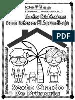 Cuadernillo de Apoyo Al Aprendizaje Sexto Gardo Idehsa
