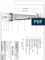 132 kV. cablle termination drawing