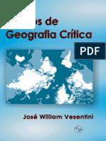Ensaios de Geografia Crítica - José William Vesentini