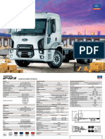 ficha tecnica ford cargo 2423 6x2