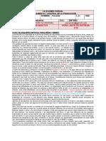 1er Parcial Planeamiento y Control de la Producción - Virtual - 2020 1