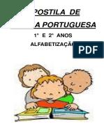 APOSTILA DE LINGUA PORTUGUESA 1° E 2° ANOS