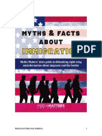 Media Matters' 2021 guide to debunking right-wing misinformation about migrants and the border