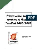 Prácticas PowerPoint 2000-2003