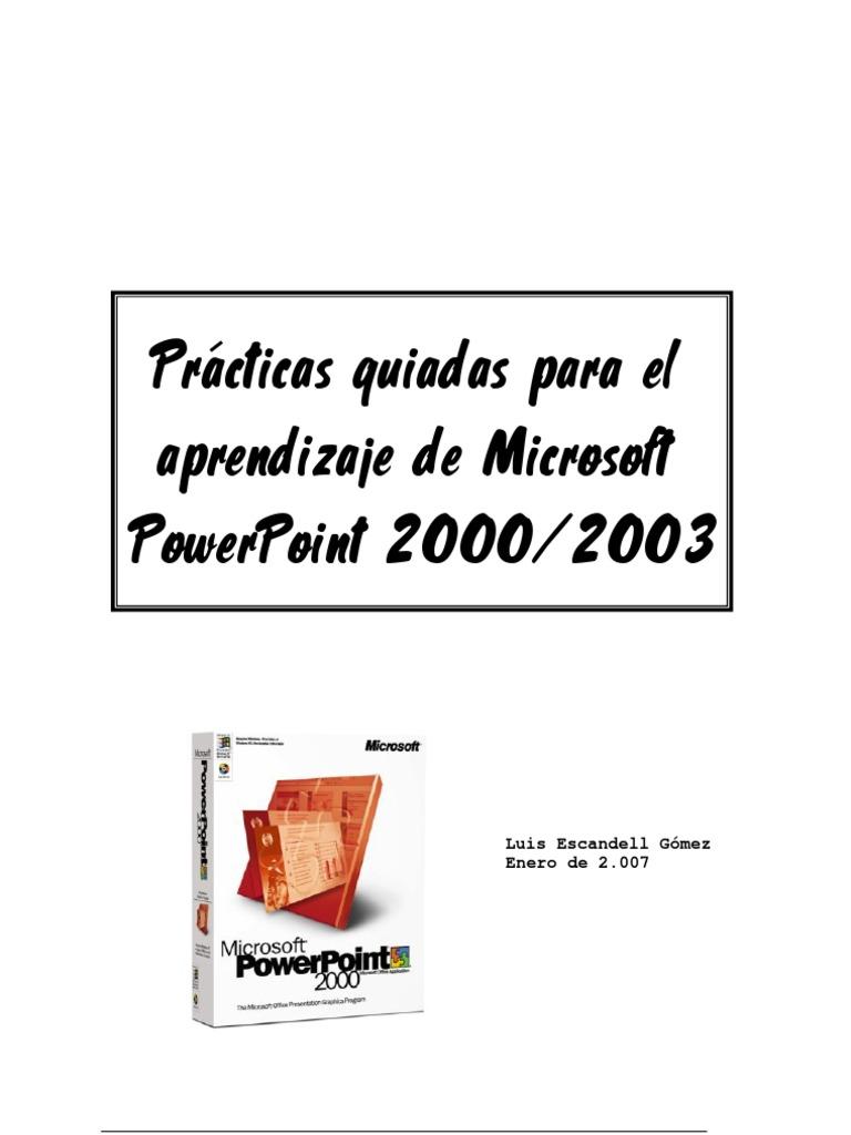 Prácticas Guiadas Para El Aprendizaje De Microsoft