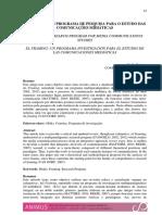 Koziner, Nadia - Framing, Un Programa de Investgación Para Los Estudios de La Comunicacion Mediática