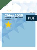 China Scenarios 2025