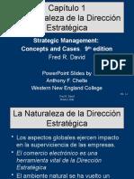 NATURALEZA DEL PROCESO ESTRATÉGICO 1