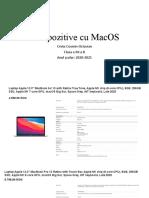 5 dispozitive cu MacOS
