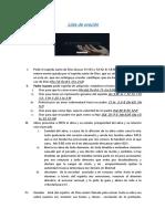 Oración personal PDF