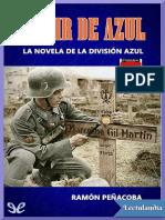 Morir de azul - Ramon Penacoba