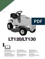 notice tracteur  LT130