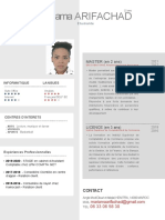 CV Mariama  ARIFACHAD