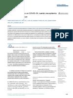 Obesidad y resultados en COVID-19