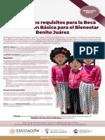 Convocatoria Beca Educación Básica Para El Bienestar Benito Juárez2021
