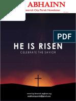 2021 an Abhainn Easter Edition