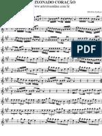 APAIXONADO CORACAO -sax alto