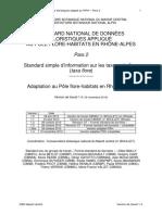 standard nat donnees-taxa flore