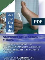 PREVENCIÓN DEL PIE DIABÉTICO. PREVENCIÓN DE LESIONES. ALBACETE NOV-2009