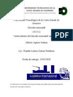 LINEA DEL TIEMPO ALBERTO