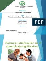 Violencia Intrafamiliar en El Aprendizaje Constructivista