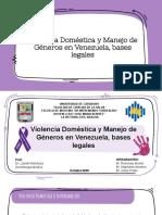 Violencia Doméstica y Manejo de Géneros en Venezuela