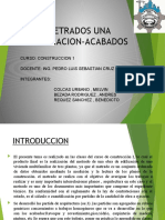 METRADO DE ACABADOS-EXPOSICION