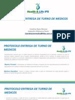 Presentacion Nueva Protocolo de Entrega de Turno