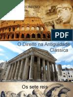 História Do Direito-Direito Romano