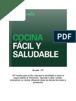 COCINA FACIL Y SALUDABLE @LIBROS_DIGITALES