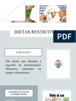 Dietas Restritivas