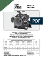Manual de Fumigadora BHP 200