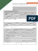 375607001 Formulario Plano de Voo Editavel